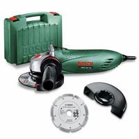 Bosch PWS 750-125 (0603164101), угловая шлифмашина + алмазный диск 125 мм