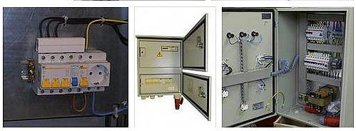 шкафы учета электроэнергии с розеткой
